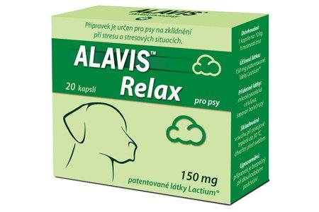 ALAVIS Relax pro psy 80 kapslí