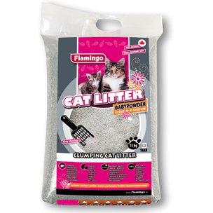 Podestýlka pro kočky s BABY POWDER vůní 7kg
