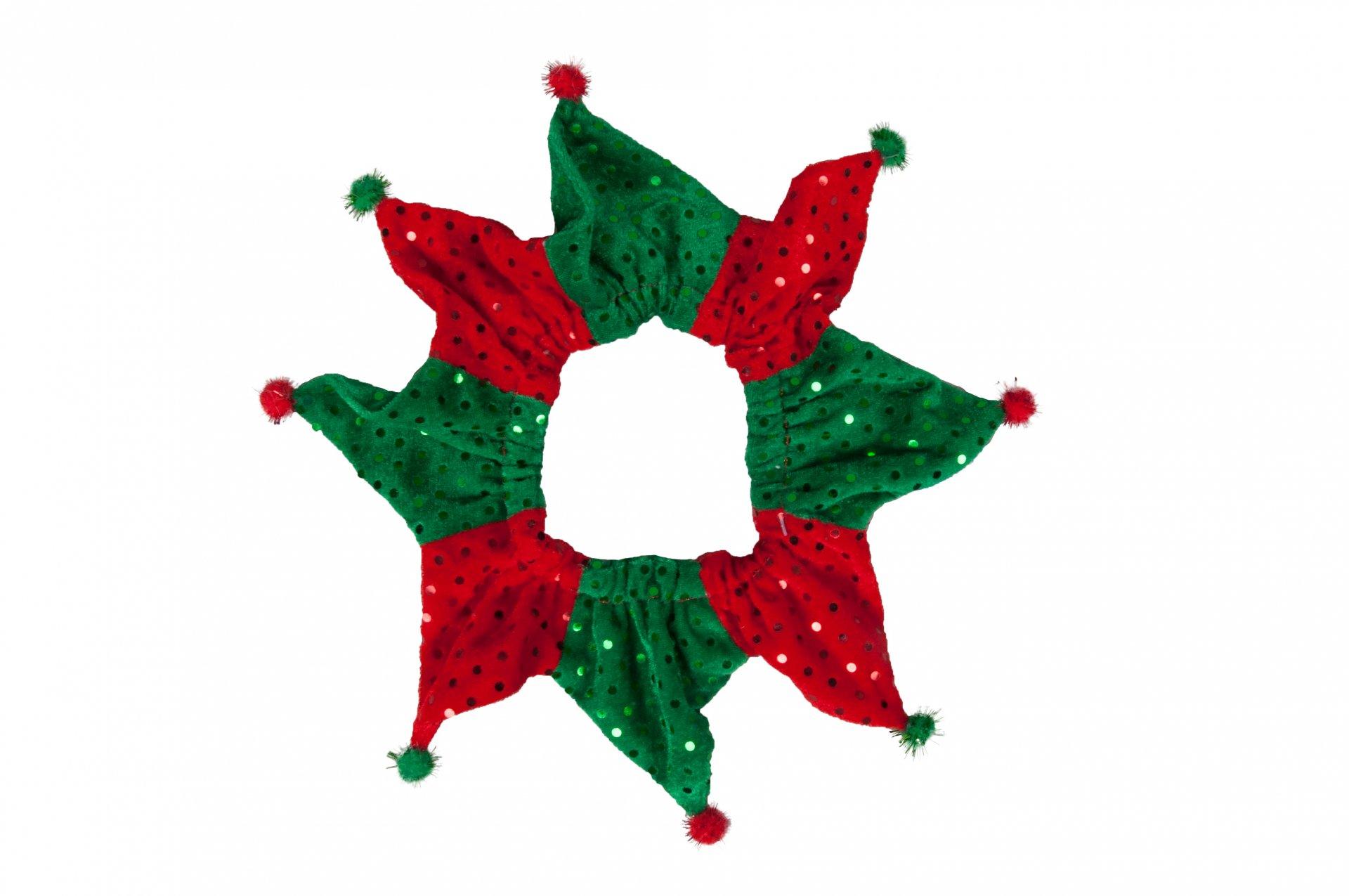 Vánoční dekorace na krk