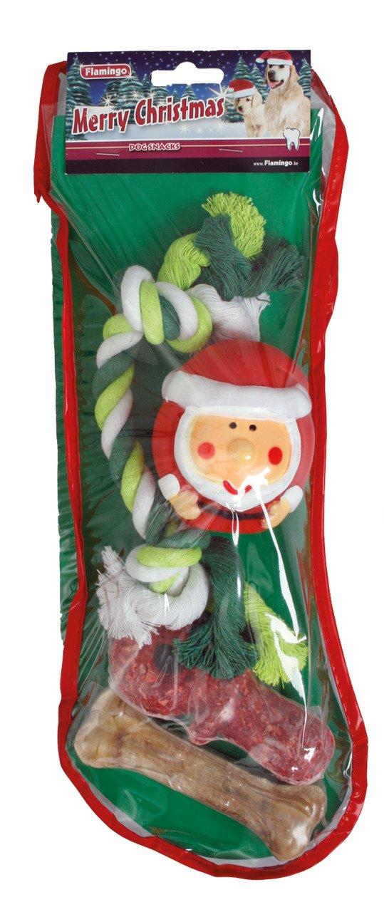 Vánoční set - pamlsky a hračky