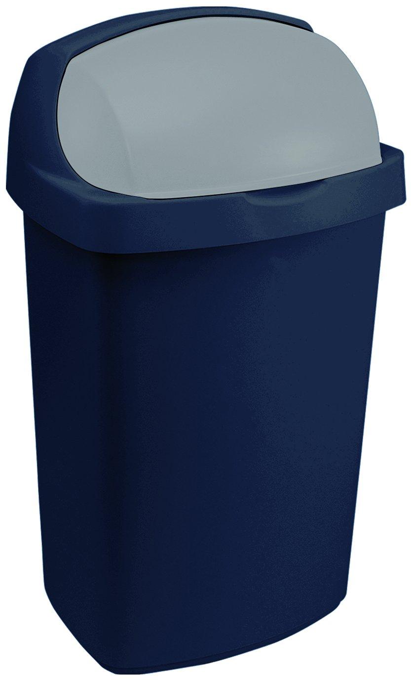 Curver odpadkový koš, ROLL TOP, modrý, 50l