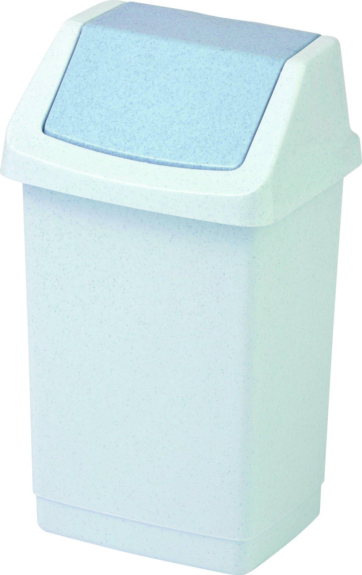 Curver odpadkový koš, CLICK-IT, šedý, 9l