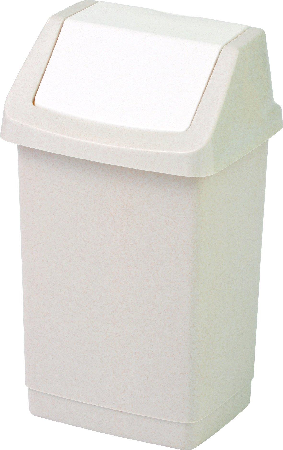 Curver odpadkový koš, CLICK-IT, béžový, 9l
