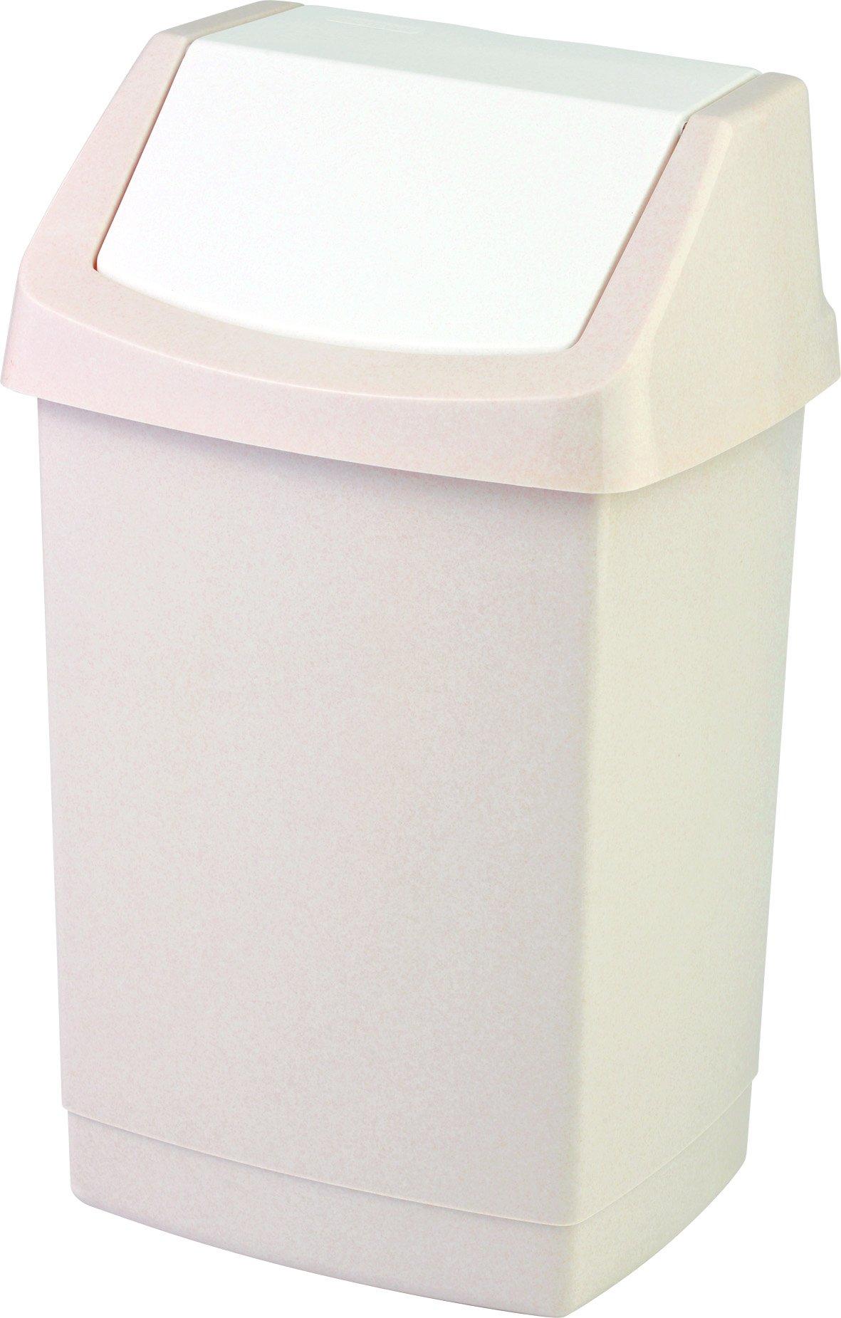 Curver odpadkový koš, CLICK-IT, béžový, 15l