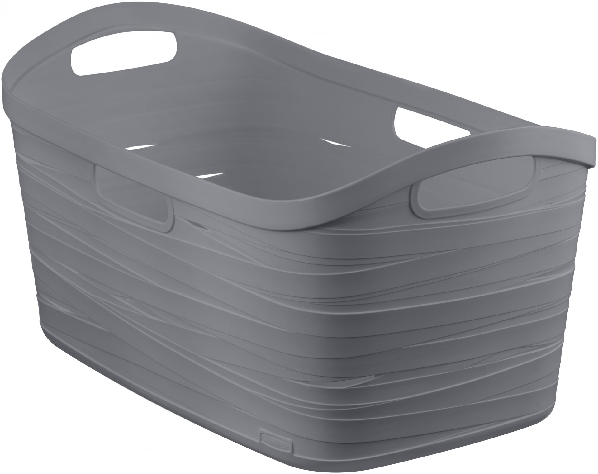 Curver Koš na čisté prádlo RIBBON 40l šedý