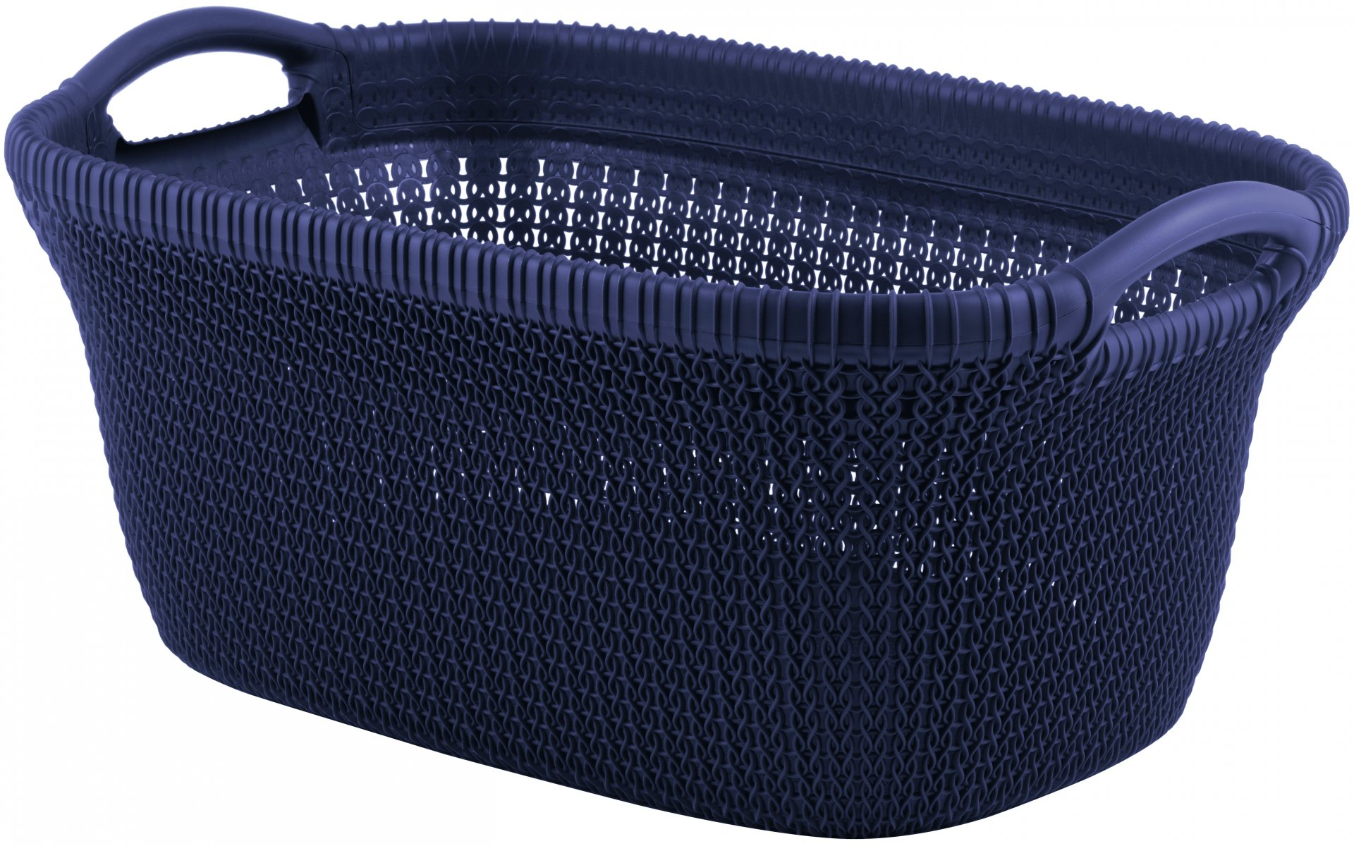 Curver Koš na čisté prádlo KNIT 40l fialový