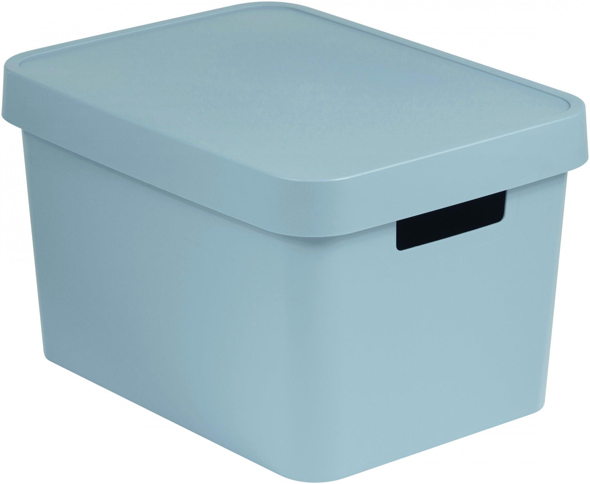 Curver Úložný box INFINITY 17l s víkem šedý