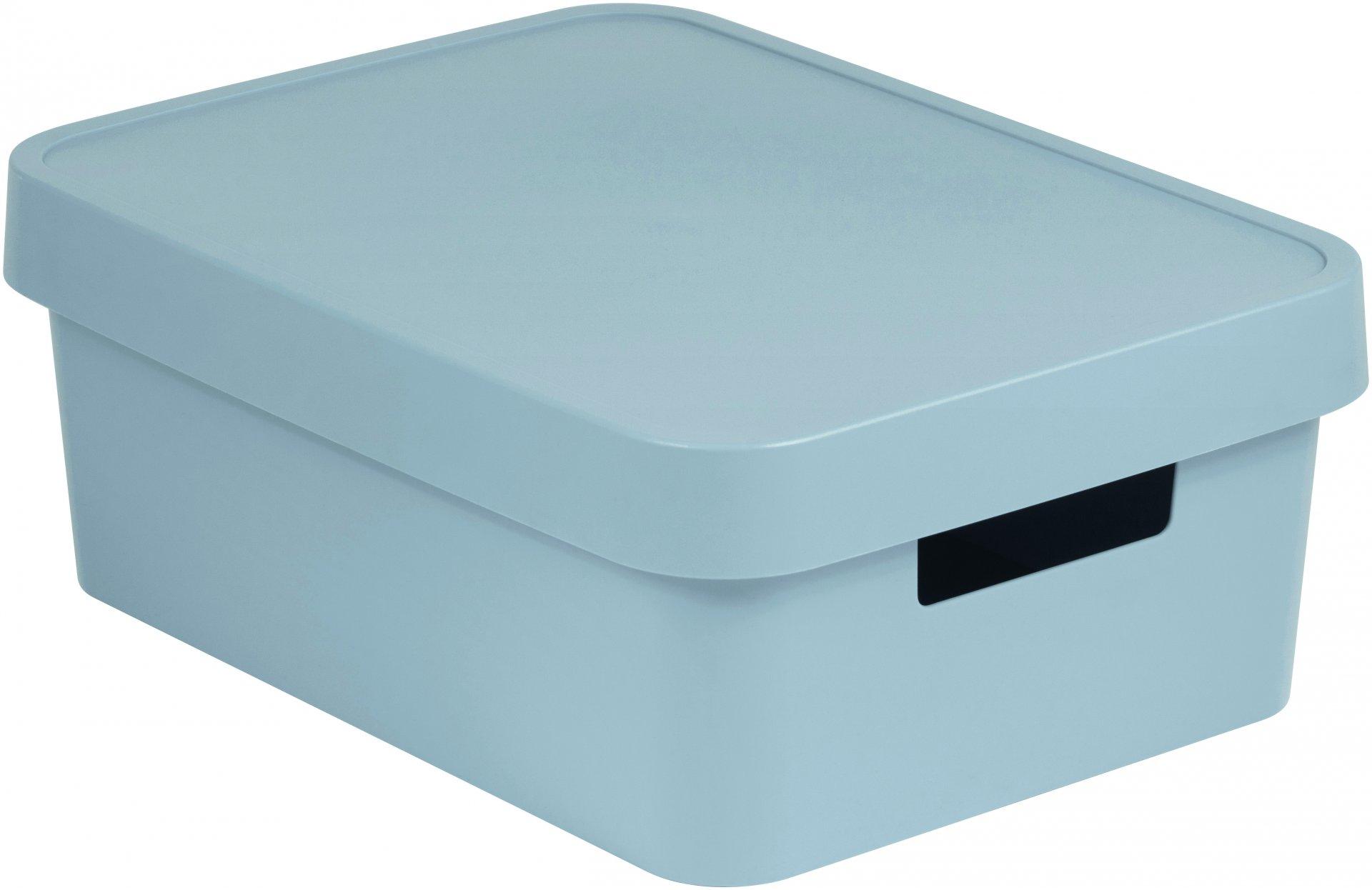 Curver Úložný box INFINITY 11l s víkem šedý