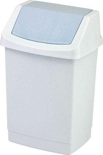 Curver odpadkový koš, CLICK-IT, šedý, 15l