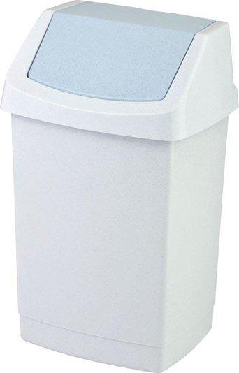 Curver odpadkový koš, CLICK-IT, šedý, 25l