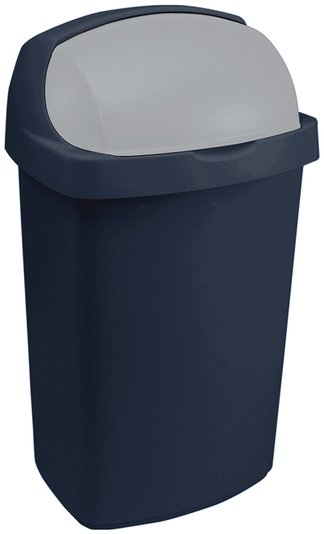 Curver odpadkový koš, ROLL TOP, modrý, 25l