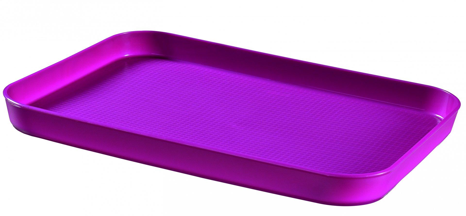 Curver Oboustranný podnos fialový