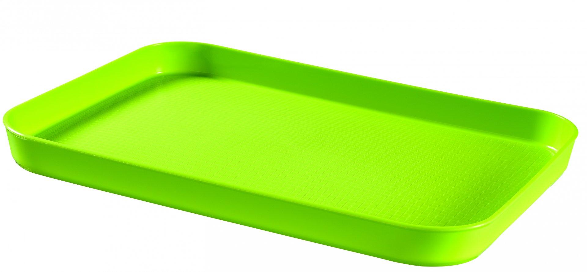 Curver Oboustranný podnos zelený