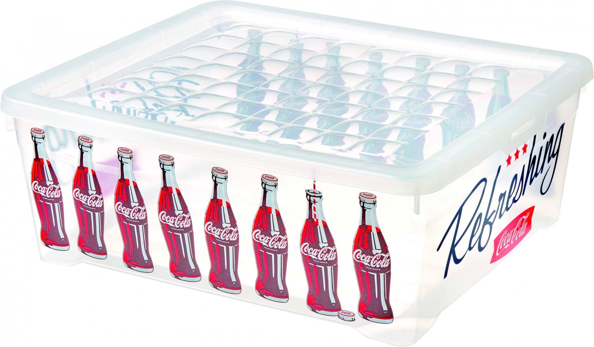 Curver Úložný box 10l Coca cola