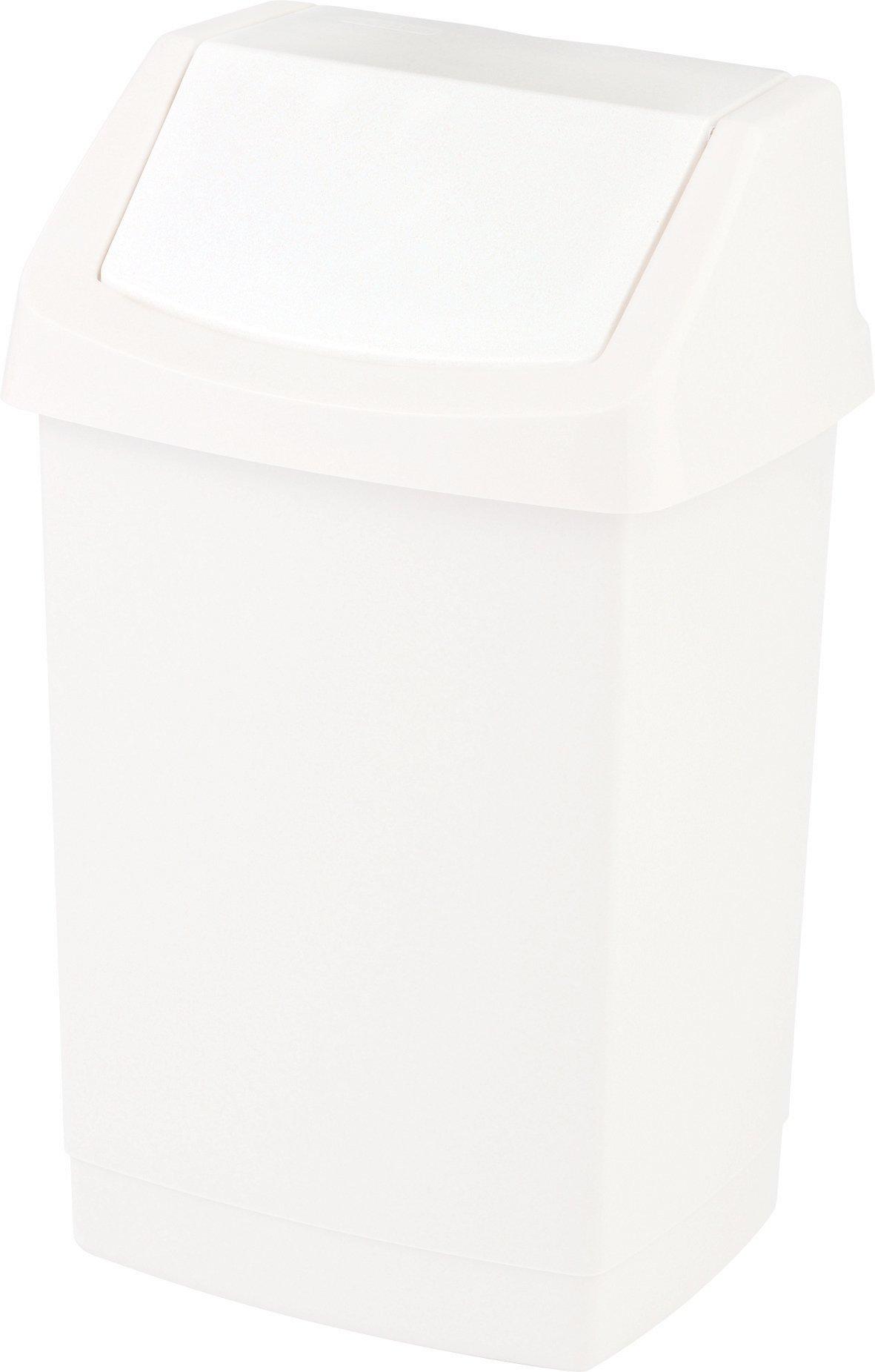 Curver odpadkový koš, CLICK-IT, bílý, 9l