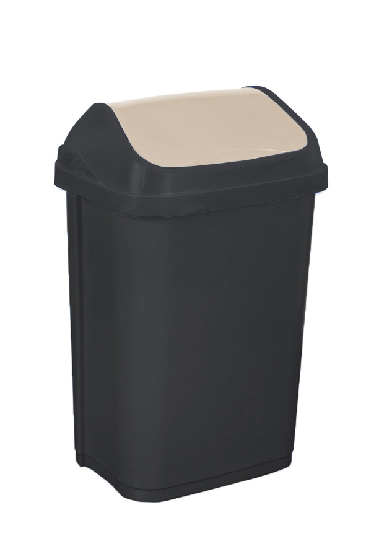 Keeeper Odpadkový koš s kyvným víkem swantje, tmavě šedý 25L