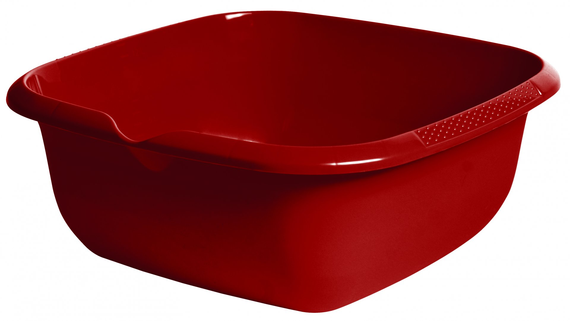 Keeeper miska čtvercová s výlevkou, björk, červená 13l