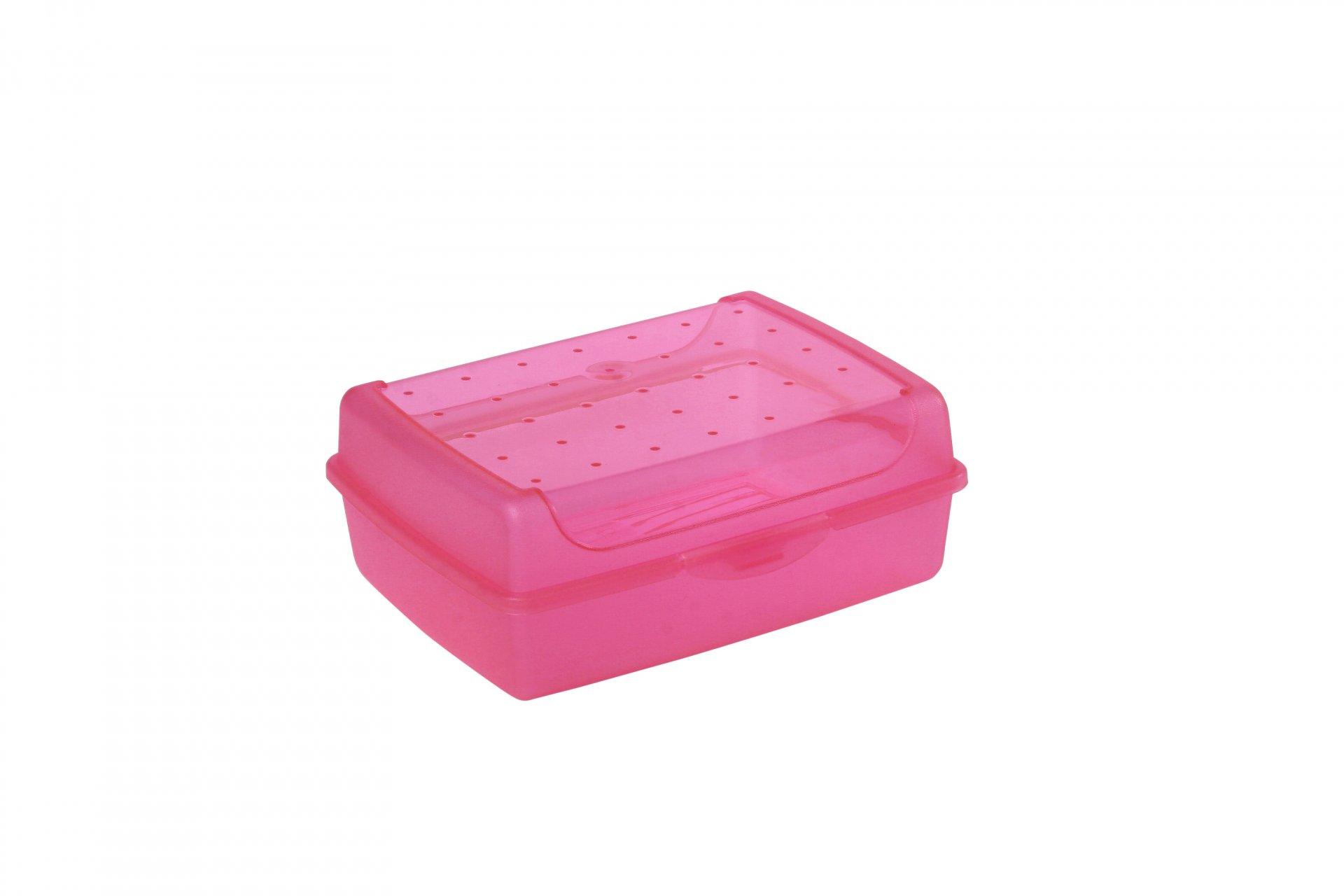 Keeeper Svačinový box luca, růžový 1L