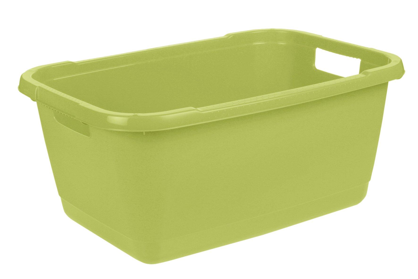 Keeeper Koš na čisté prádlo aenna, zelený 52l