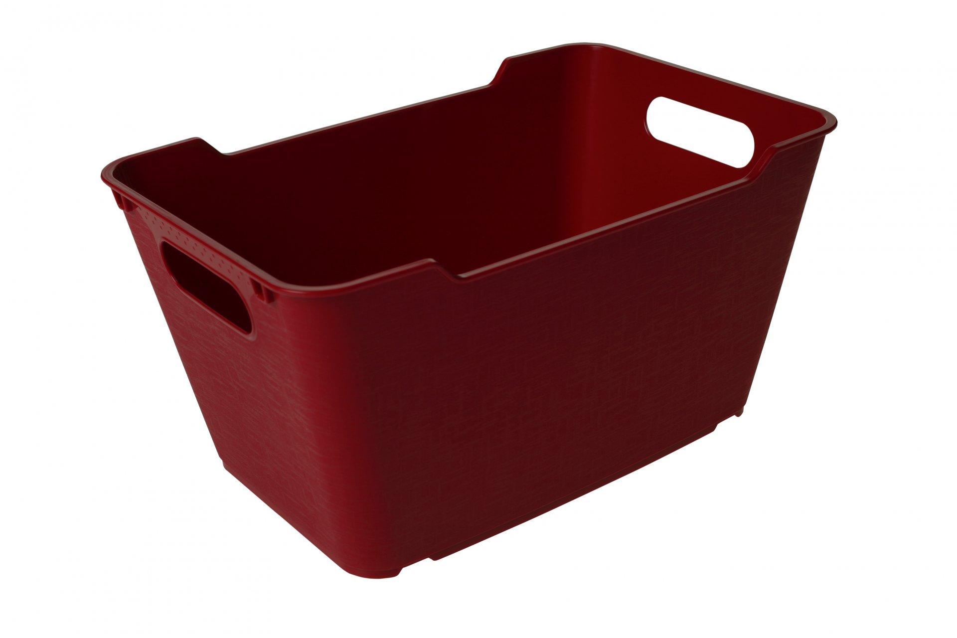Keeeper Stylový box lotta, červený 6L