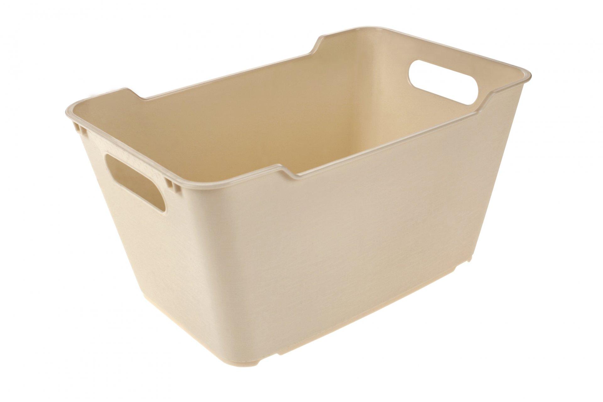 Keeeper Stylový box lotta, krémový 6L