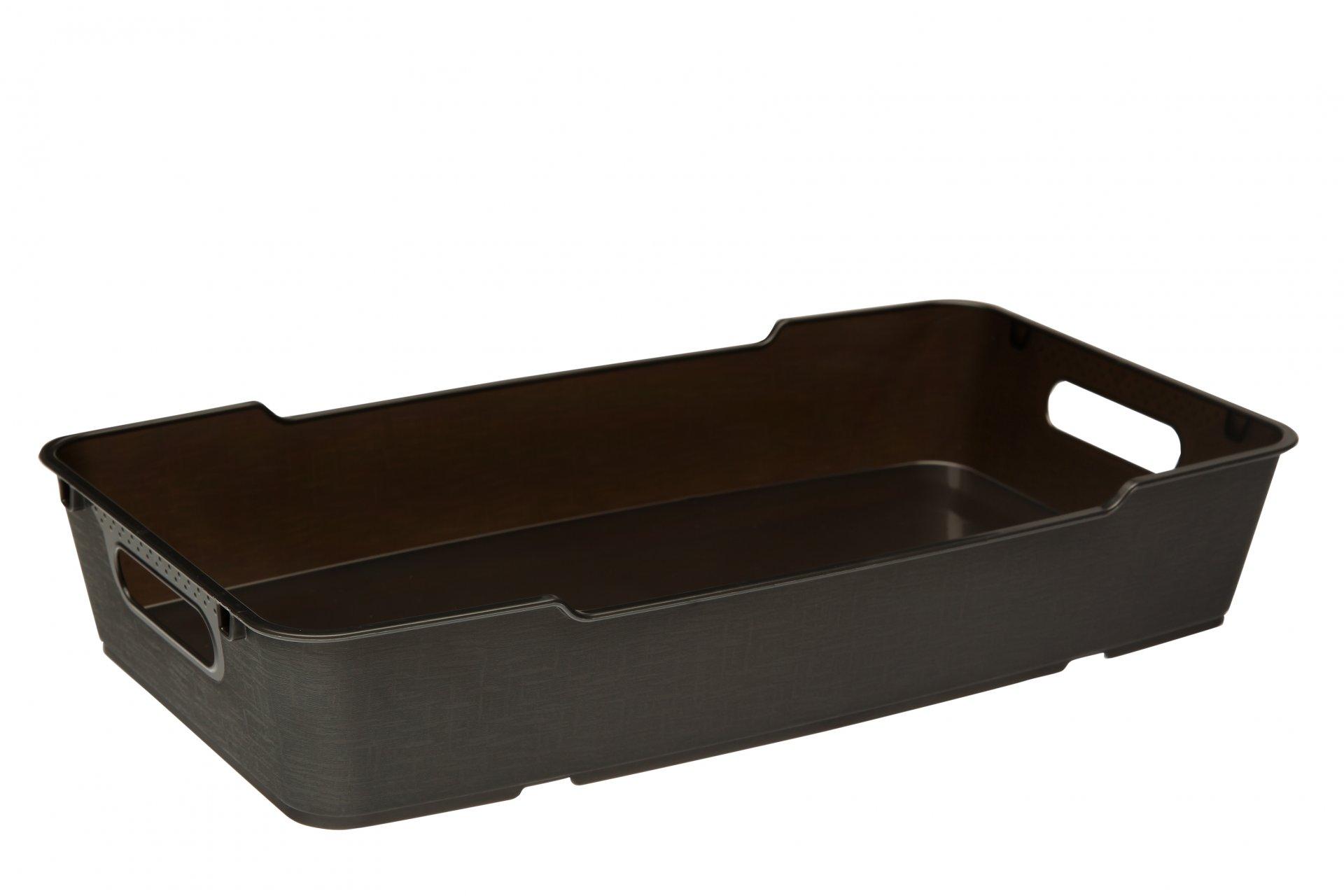 Keeeper Stylový box lotta, tmavě šedý 5,5L 40x22x7cm