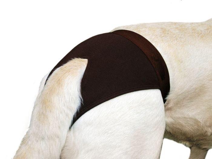 Karlie-Flamingo Hárací kalhotky hnědé XXL, 60-67cm