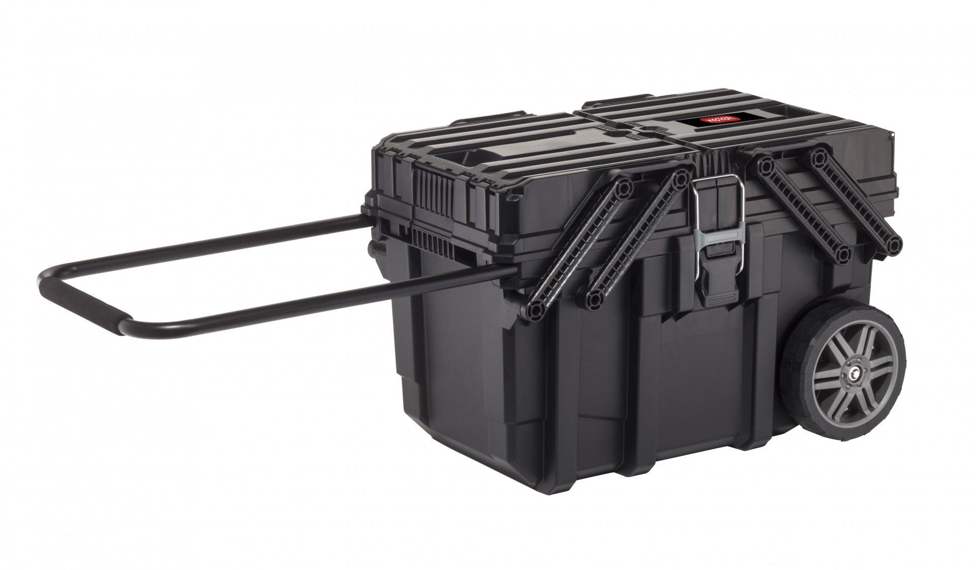 Keter Organizér na kolečkách Job Box černý 64,6x37,3x41cm