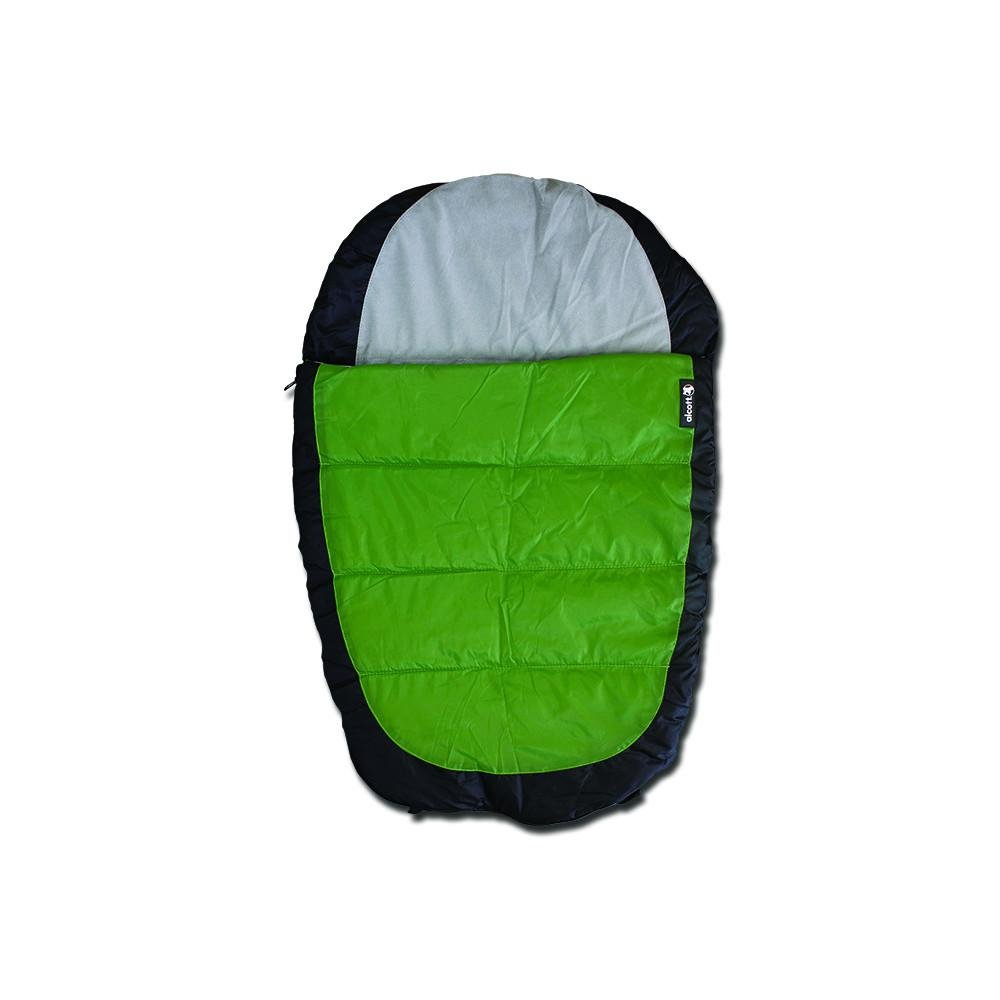 Alcott spacák pro psy, šedý/zelený, velikost M