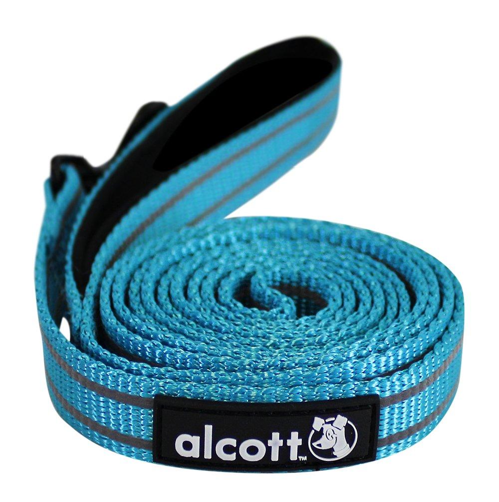 Alcott reflexní vodítko pro psy, modré, velikost L