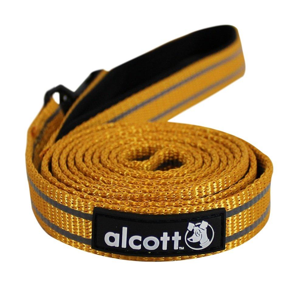 Alcott reflexní vodítko pro psy, oranžové, velikost L