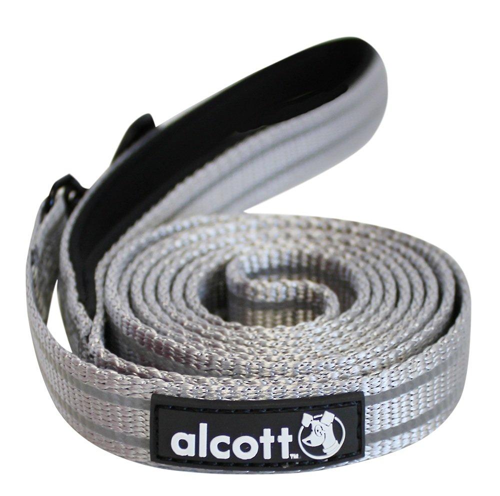 Alcott reflexní vodítko pro psy, šedé, velikost L