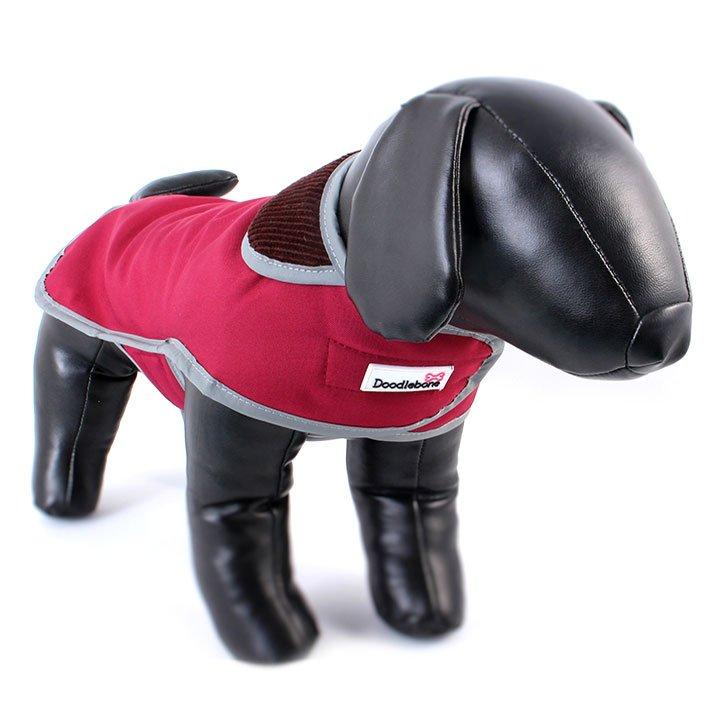 Doodlebone kabát, Drysie, červený, velikost L