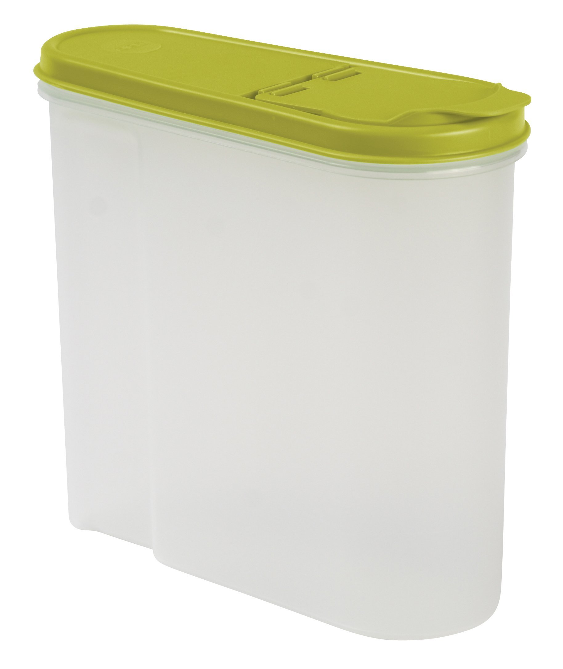 Keeeper Dóza na cereálie jean, zelená 1,25L