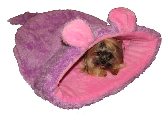 Marysa pelíšek 2v1, MYŠÁK, růžový, velikost XL