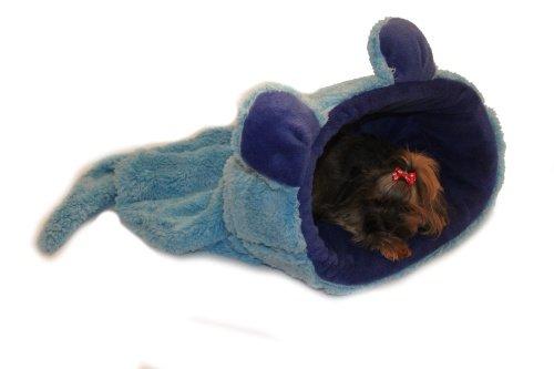 Marysa pelíšek 2v1, MYŠÁK, modrý, velikost XL