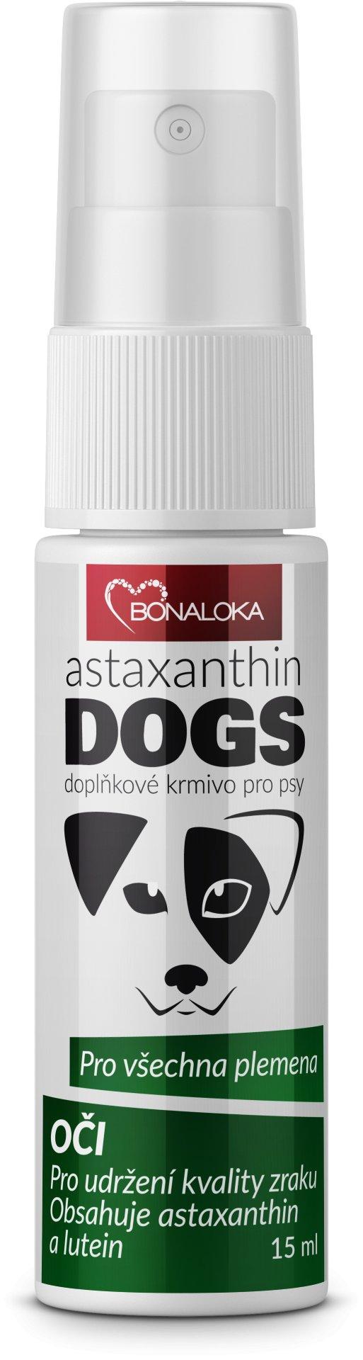 Bonaloka Astaxanthin Dogs Oči