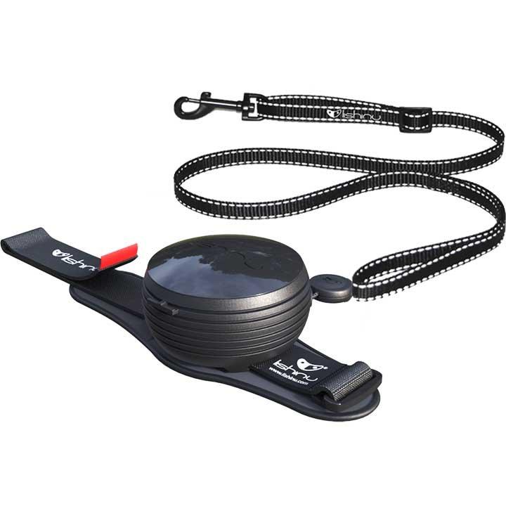 Lishinu vodítko 3v1 (pro psy a kočky do 8kg), Light Lock, černé