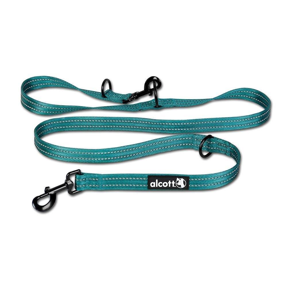 Alcott nastavitelné vodítko pro psy, modré, velikost L