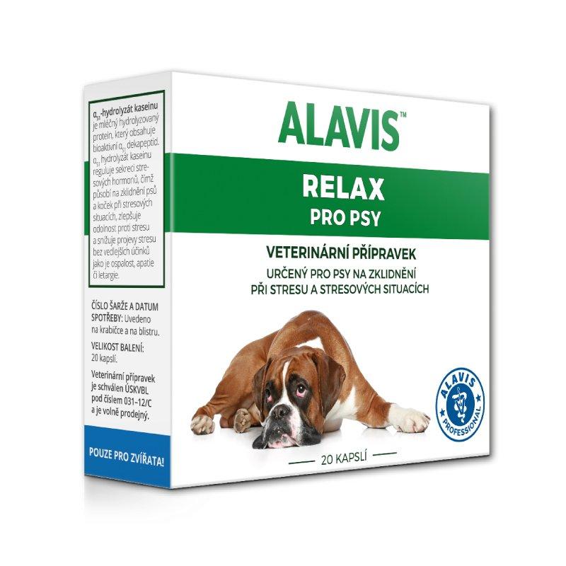 ALAVIS Relax pro psy 20 kapslí