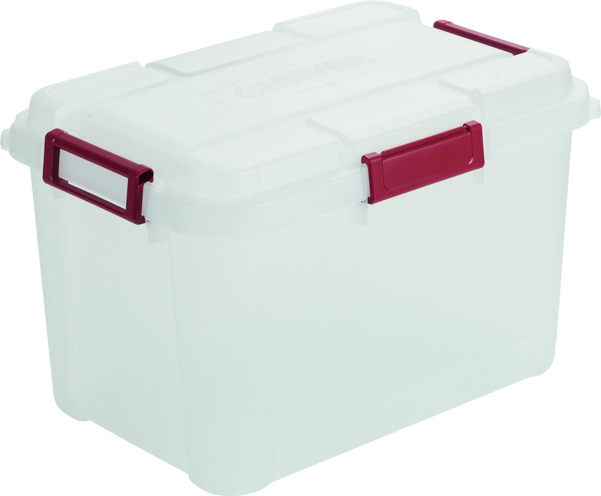 Curver Odolný box na nářadí Outback 60L, transparentní