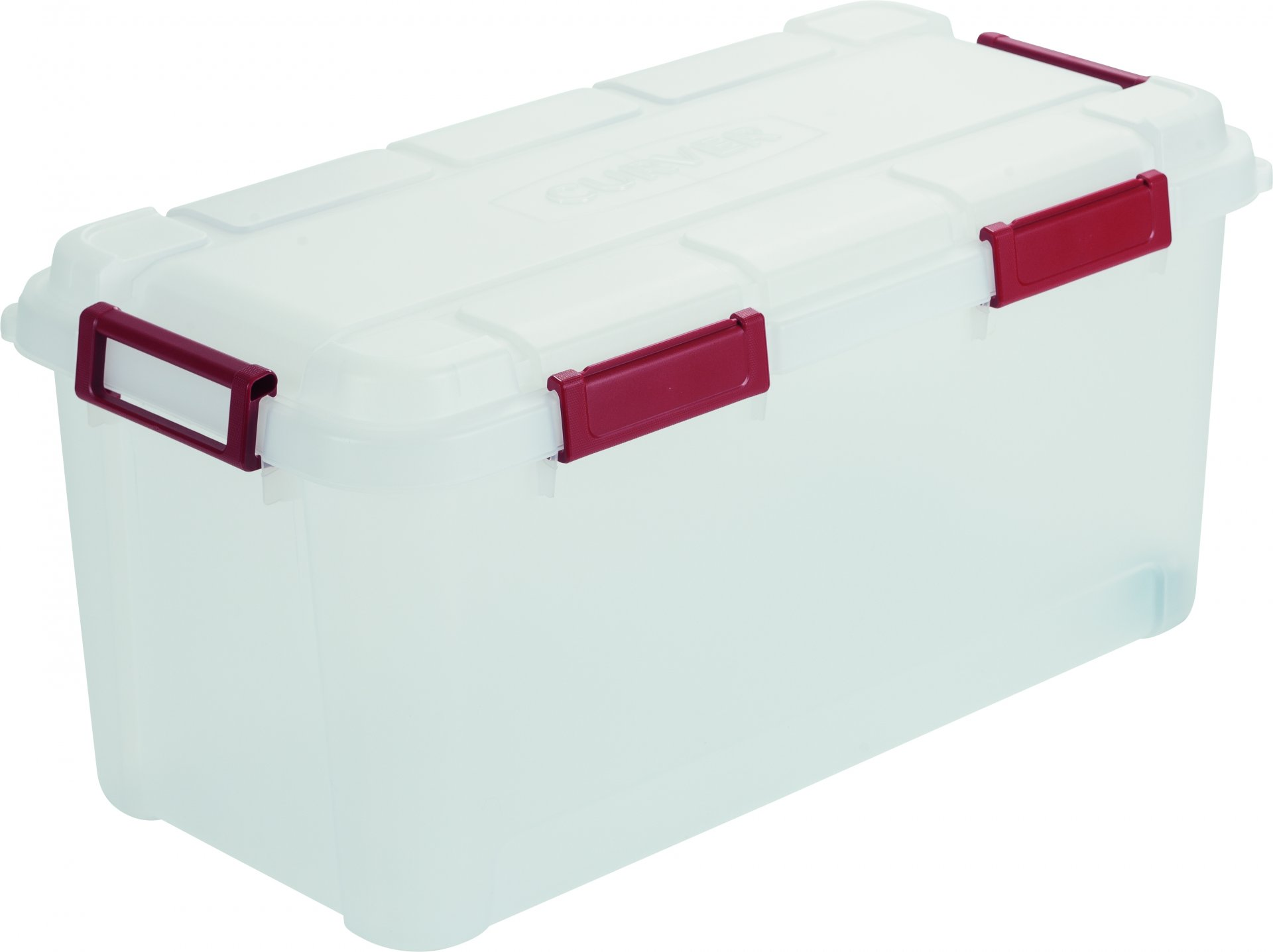 Curver Odolný box na nářadí Outback 80L, transparentní