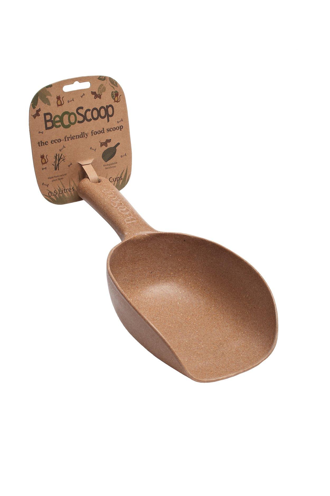 Lopatka na jídlo, BecoScoop-brown, EKO