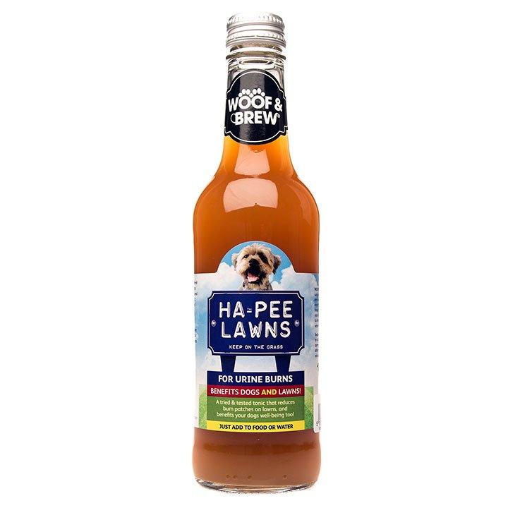 Woof & Brew bylinné tonikum pro psy proti skvrnám na trávníku (60 dávek)