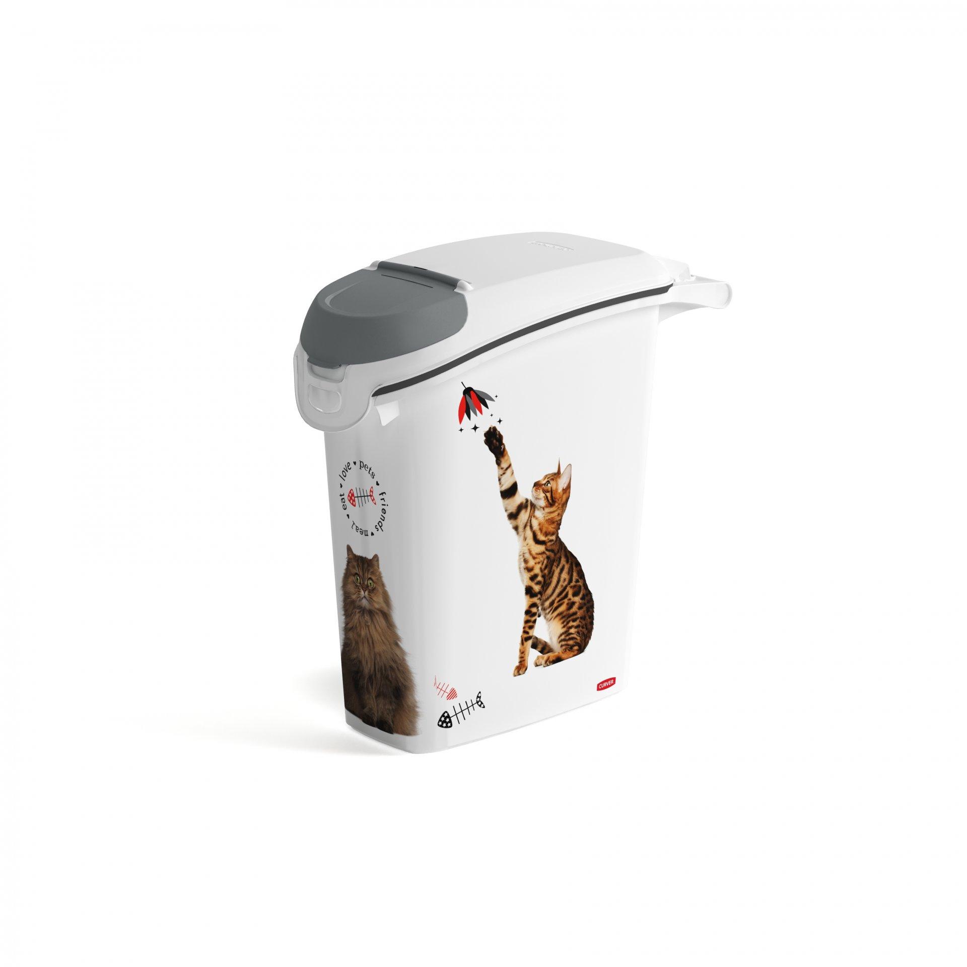 Curver kontejner na skladování písku pro kočky, 23l