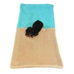 Marysa pelíšek 3v1 pro štěňátka/koťátka, béžový/tyrkysový