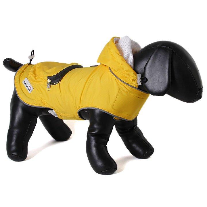 Doodlebone pláštěnka, Mac-in-a-pack, žlutá, velikost XL