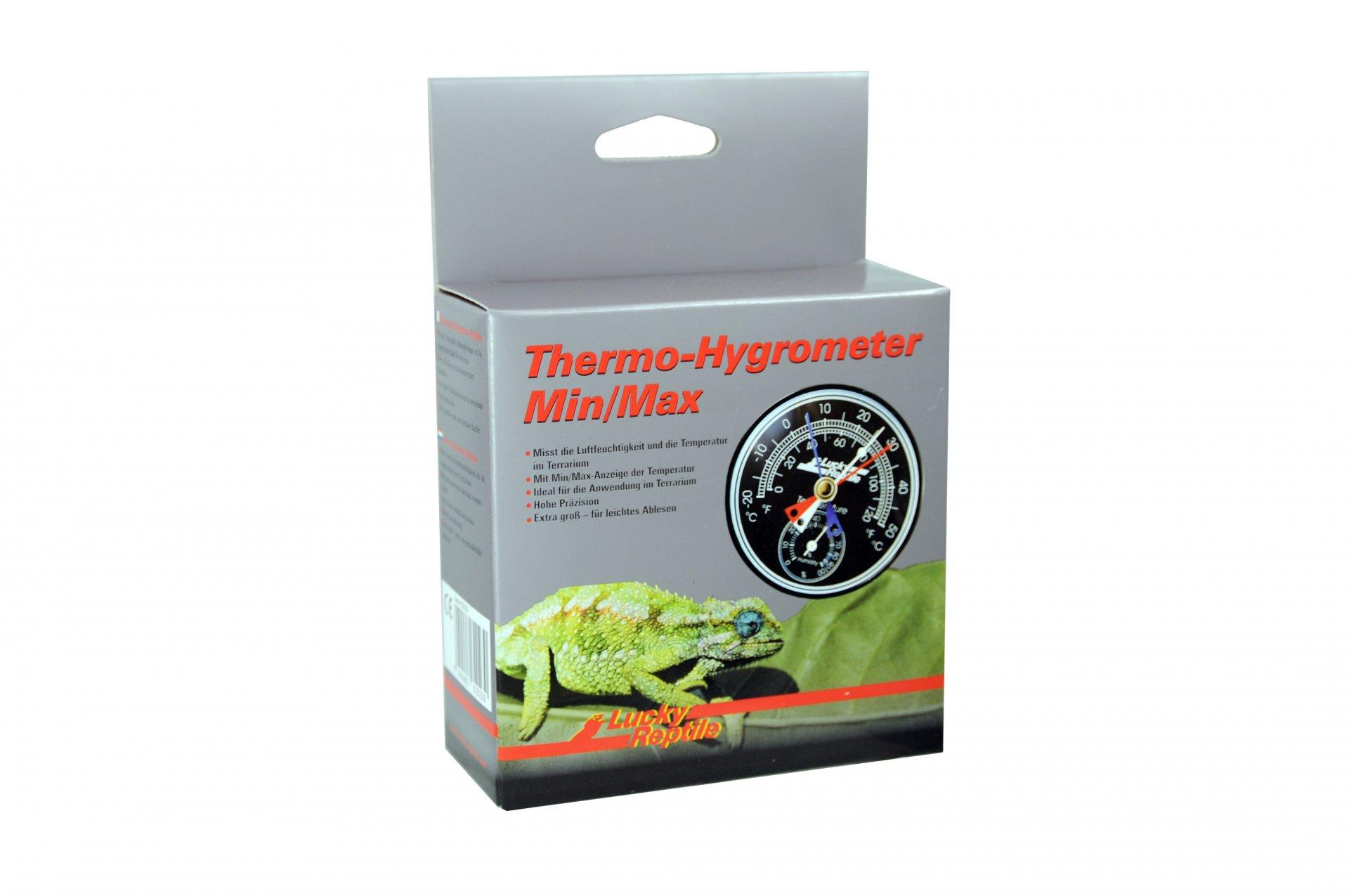 Lucky Reptile Thermo-Hygrometer Min/Max