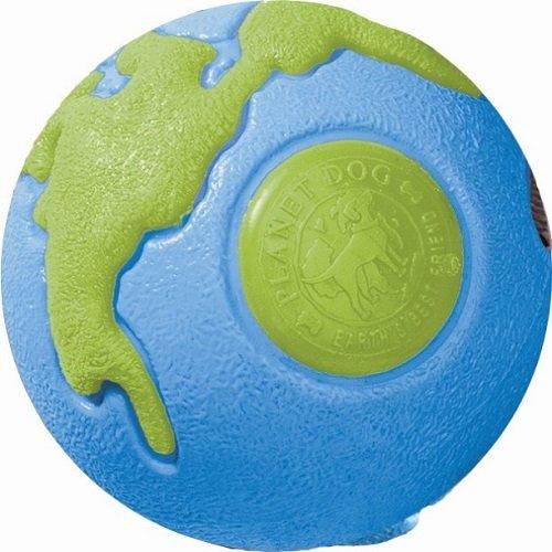 PLANET DOG hračka pro psa, Orbee-Tuff Lopta, modrá-zelená, velikost M