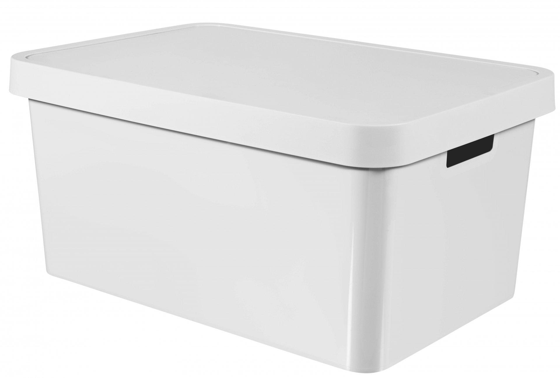 Curver box, INFINITY, bílý, 45l